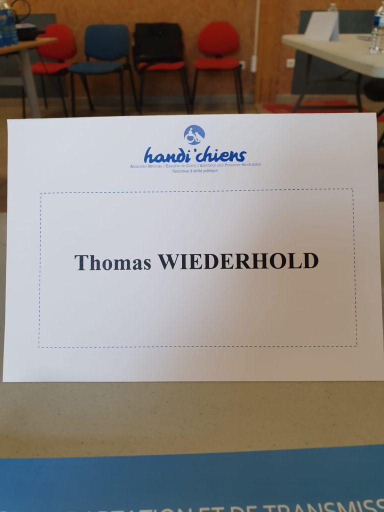 1. Tag Thomas Namensschild
