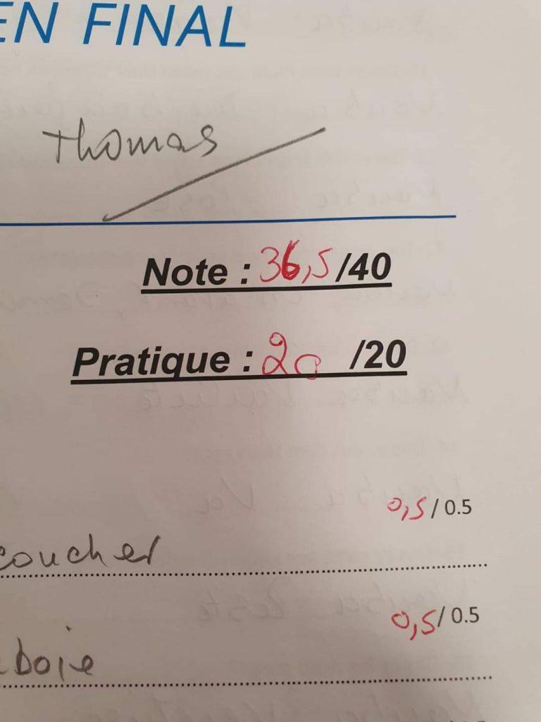 12. Tag Prüfungsergebnis