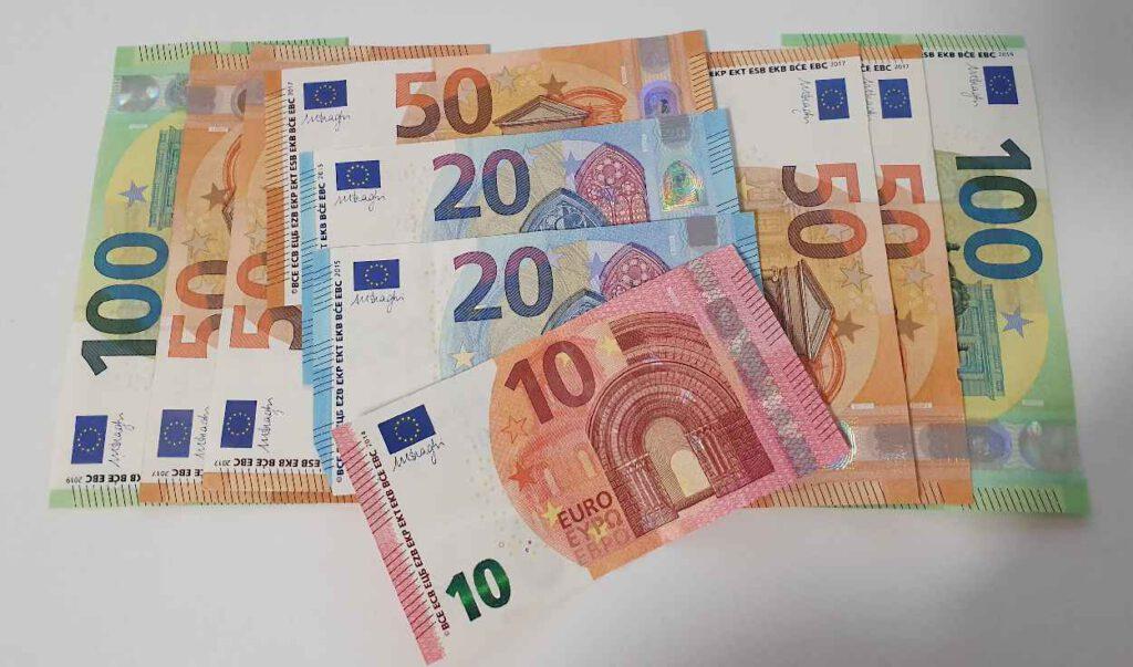 500 Euro Spende